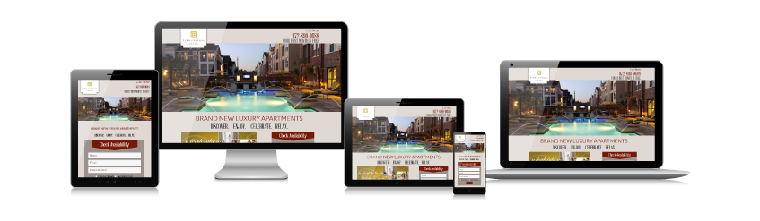 non responsive why changes in web design matter for apartment marketing apartment marketing blog - Apartment Website Design